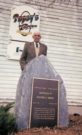 Merle Fulton at the Memorial Stone in El Paso